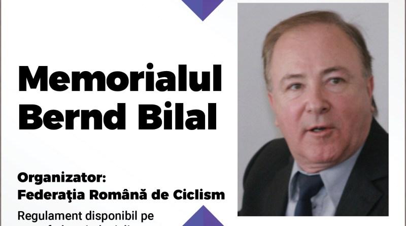 bernd - Cicliștii participă la Memorialul Bernd Bilal