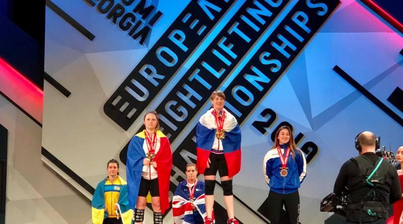 molie - Două medalii pentru Bianca Molie la Europene