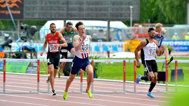 sandnes 1 - Doi atleți la Campionatul European pe echipe