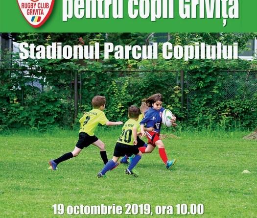 AFIS GRIVITA 1 - Olimpia la Festivalul de rugby pentru copii Grivița