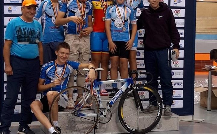 plovdiv - Medalii pentru cicliști la Campionatele Naționale de velodrom