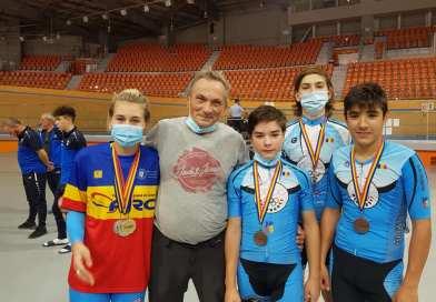 Medalii pentru cicliștii Olimpiei