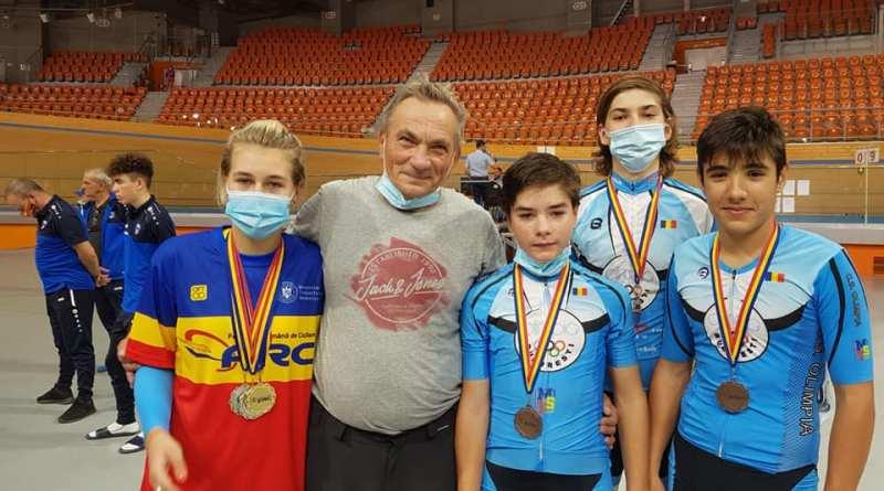 brebene - Medalii pentru cicliștii Olimpiei