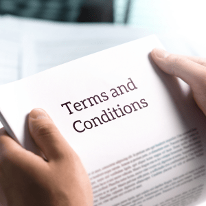 Contract Terms and Conditions Chinese suppliers