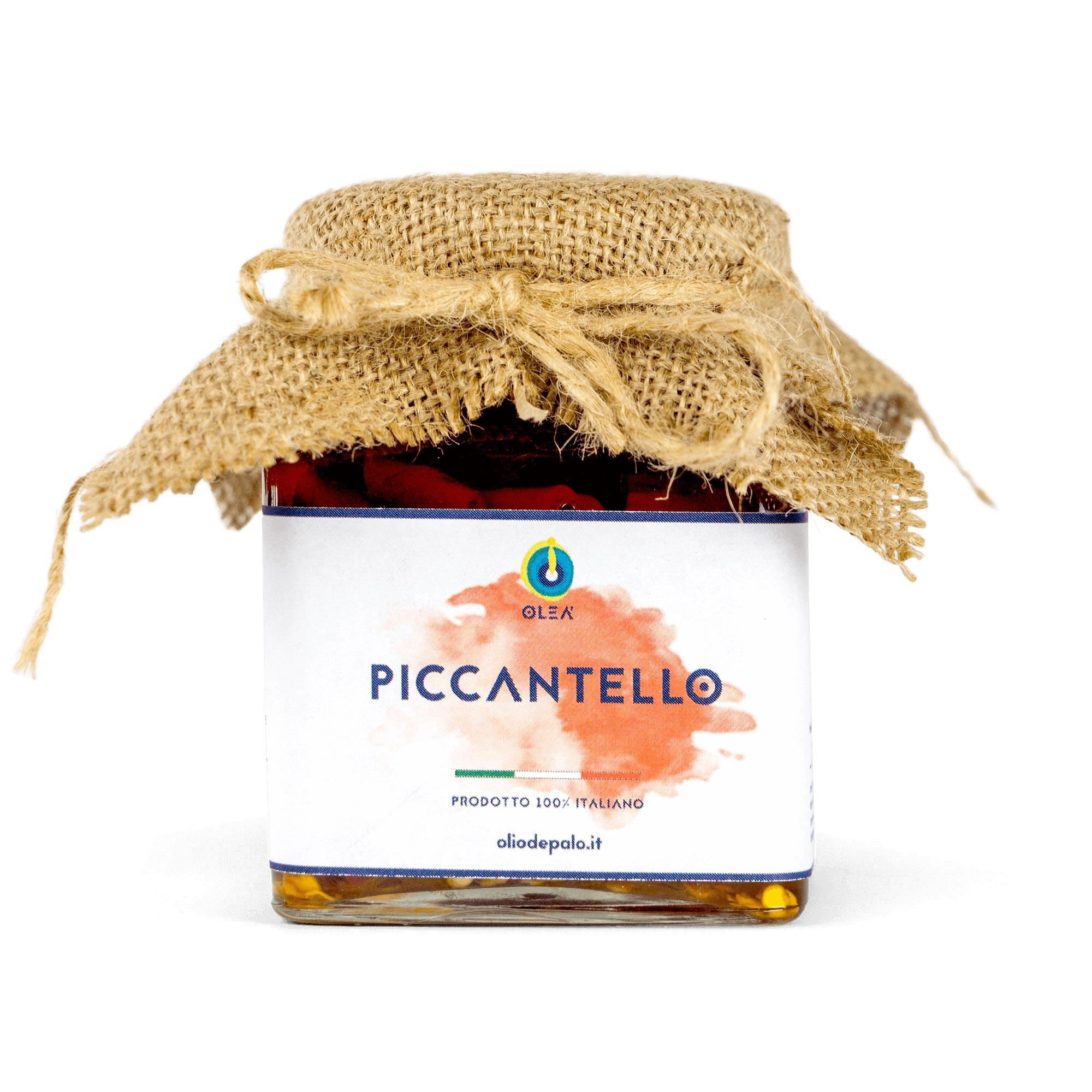 peperocino piccantello sott'olio olio depalo prodotti tipici puglia