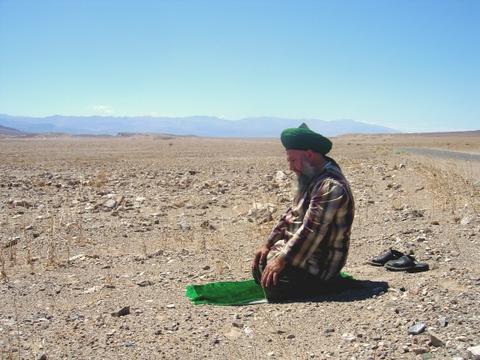 Praying in Death Valley