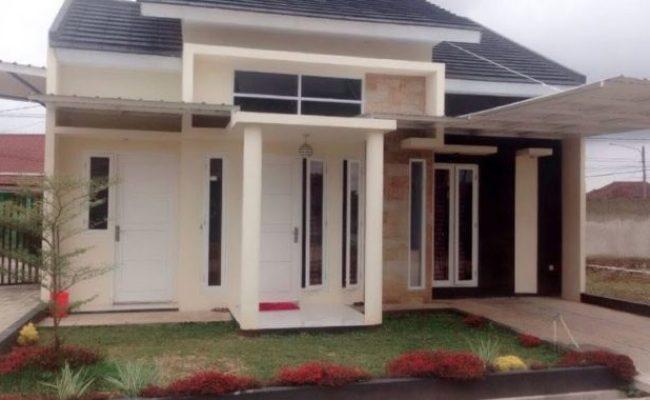 Desain Rumah Minimalis Terbaru Type 45 Dengan Pagar Rumah Cute766