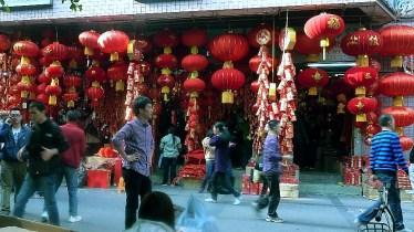 A street of Guangzhou
