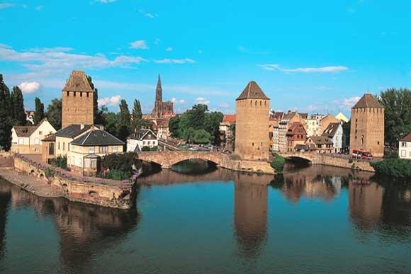Faire visiter Strasbourg à Crevette