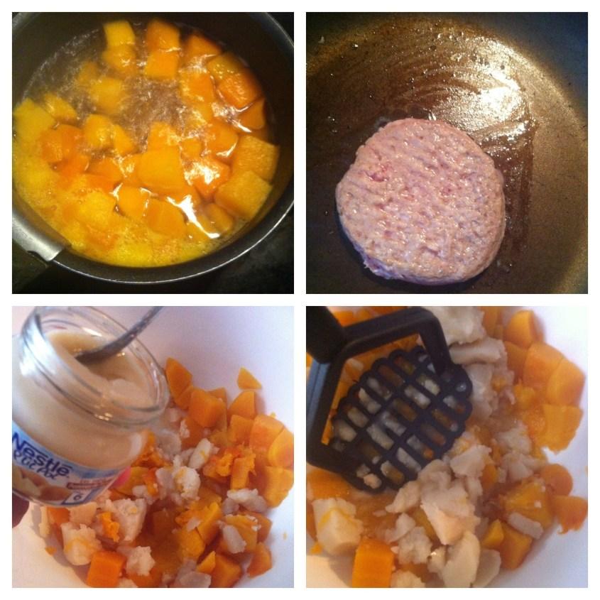 Recette #3 Veau à la patate douce