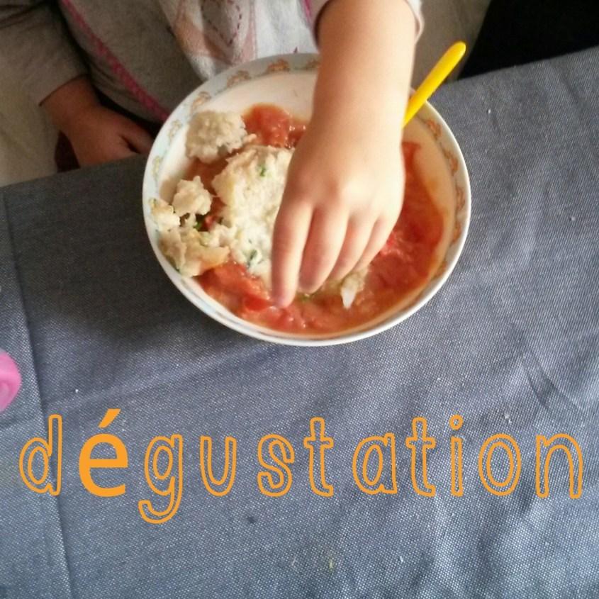 Recette #6 Parmentier de cabillaud & douceur de tomates