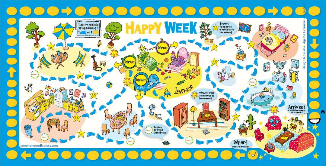 Happy Week : le jeu malin !