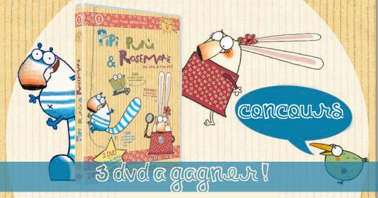 Pipì, Pupù &amp&#x3B; Rosemarie [Concours terminé]