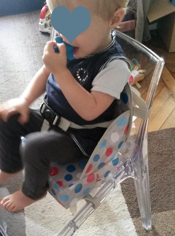 Battle chaise nomade versus réhausseur