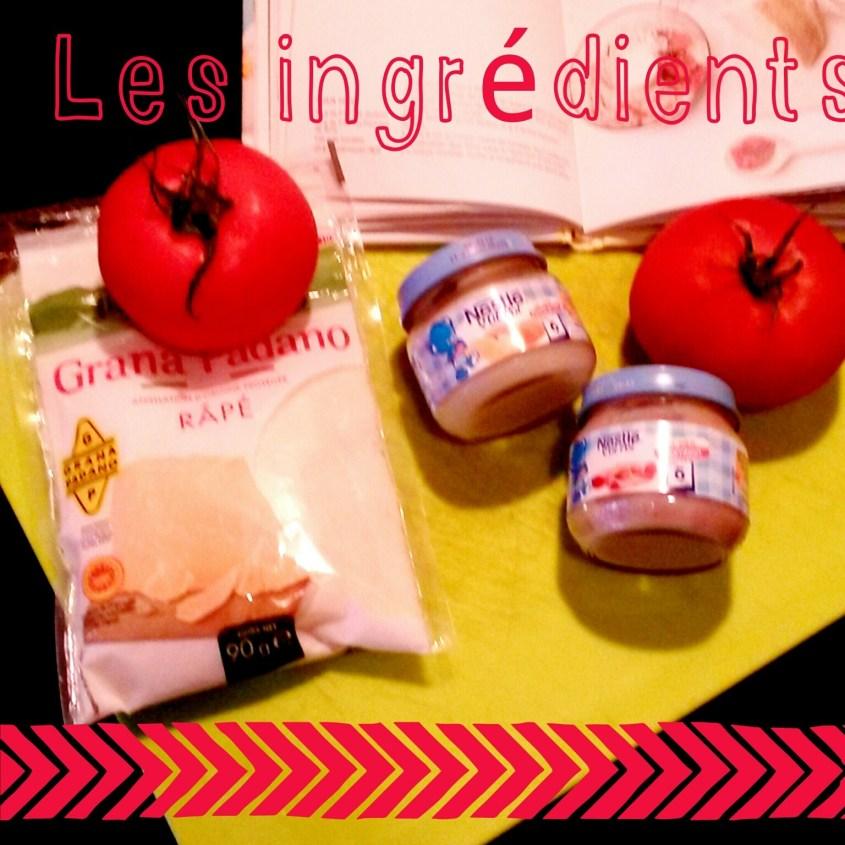 Recette #13 Jambon aux tomates confites & parmesan