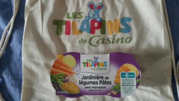 Les repas Les Tilapins de Casino