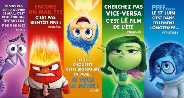 VICE-VERSA, le nouveau #Pixar ♥♥♥