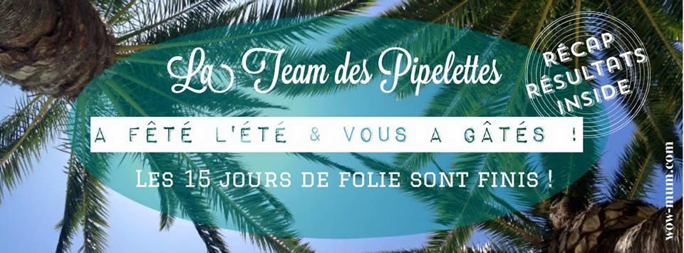 Les concours de la #Teampipelettes : tous mes gagnants !