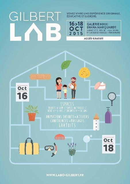 Le Gilbert Lab, pour toute la famille