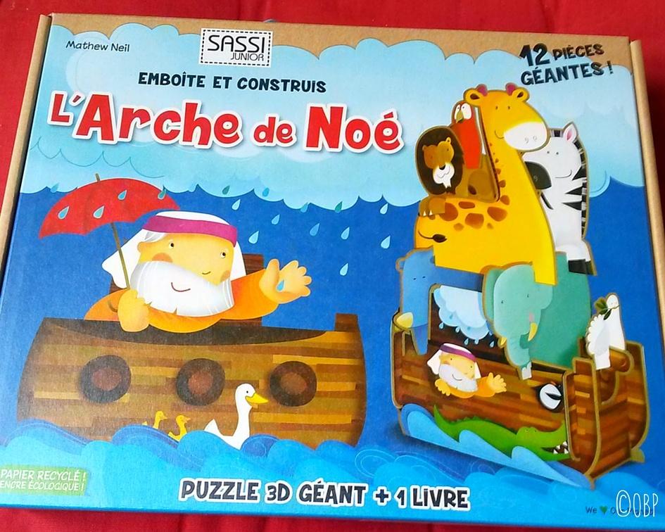 L'arche de Noé Sassi Junior #NoëlTeamPipelettes (concours terminé)