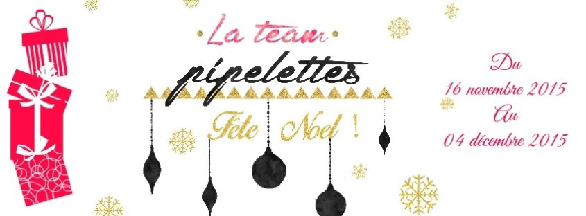 OH OH OH ! La #TeamPipelettes vous gâte pour Noël  #Concours #NoelTeamPipelettes