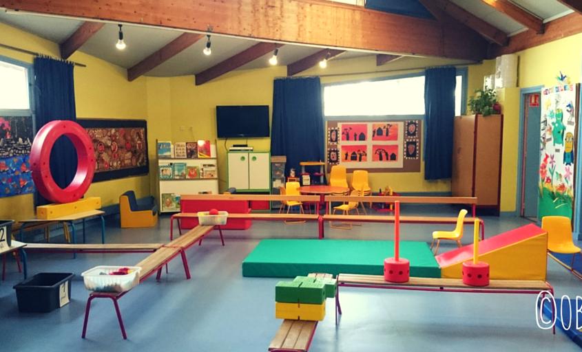 Visite de la nouvelle école
