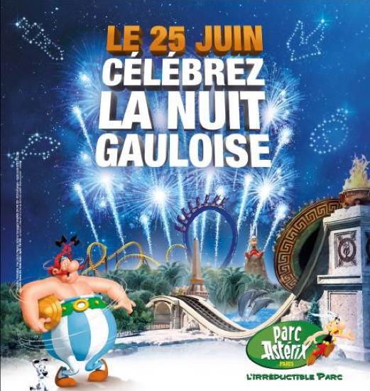 Un été chez les Gaulois ! #parcAsterix (concours terminé)