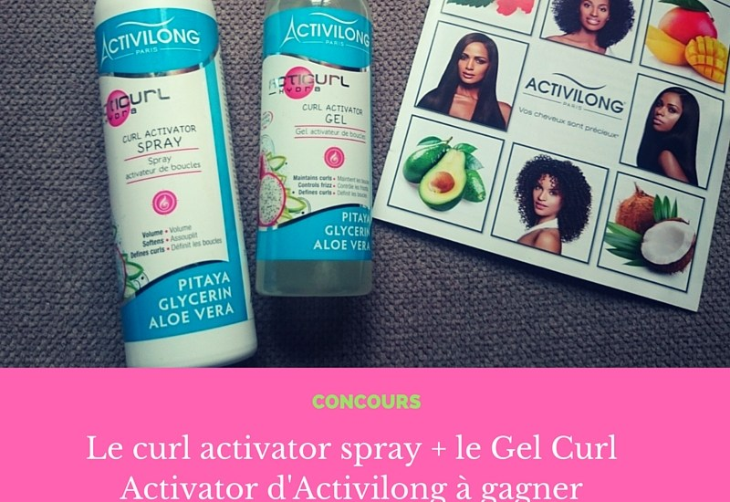 Gagne un lot de Spray et Gel Activilong #facebook