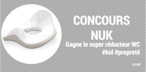 Concours NUK : gagne le super réducteur WC #kid #Propreté