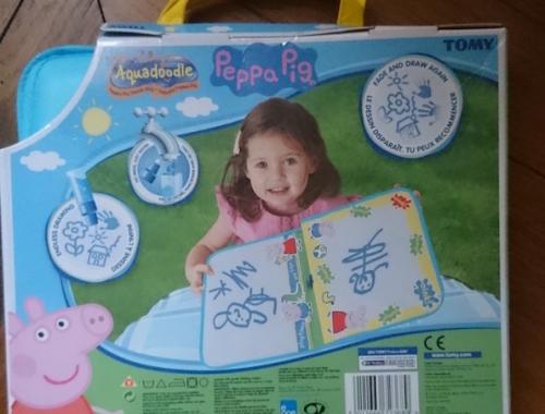 valisette aquadoodle peppag pig