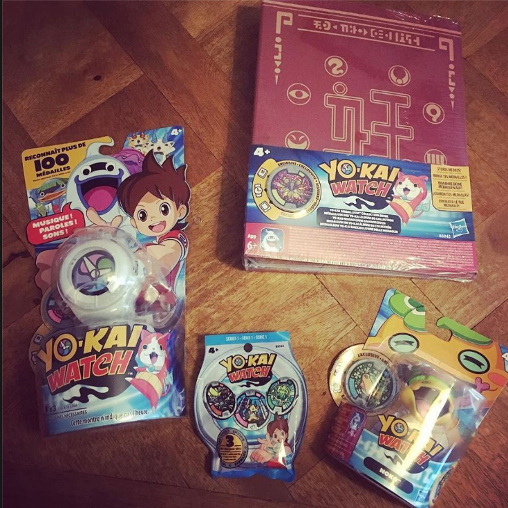 le parfait kit Yo Kai Watch