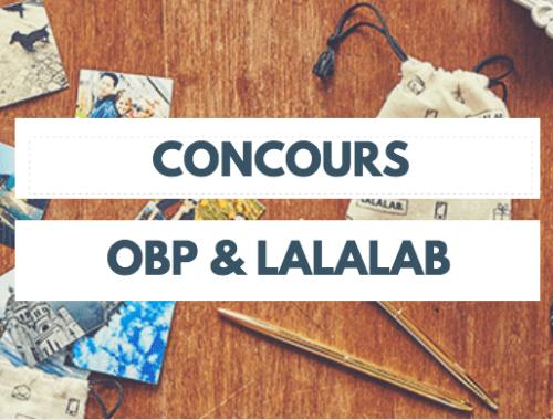 Gagne de nombreux lots avec OBP et LALALAB