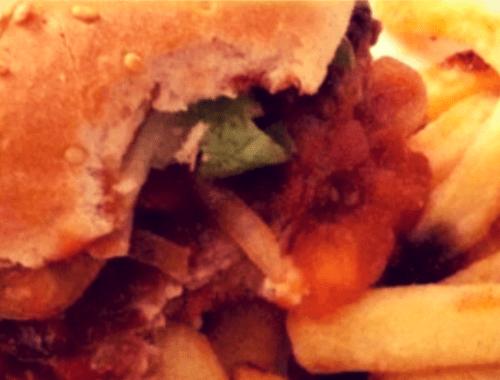 Un burger maison, un !