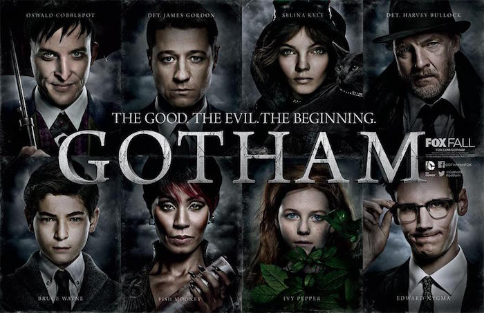 Bandeau serie Gotham the good the evil the beginning