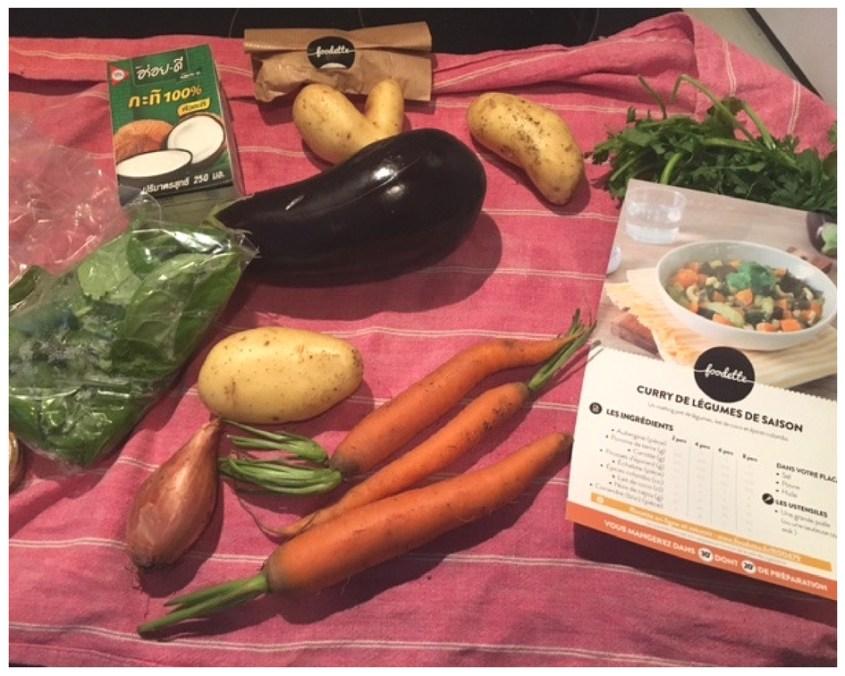 Curry de légumes de saison - plat végétarien Foodette