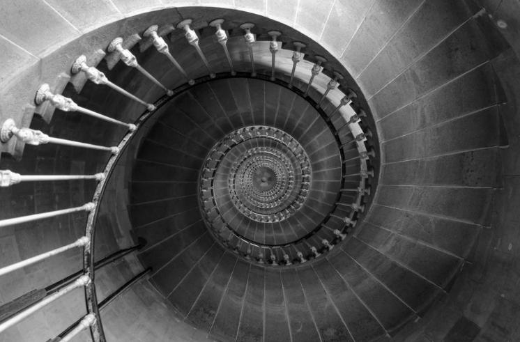 Escalier du Phare des baleins ARTPHOTOLIMITED