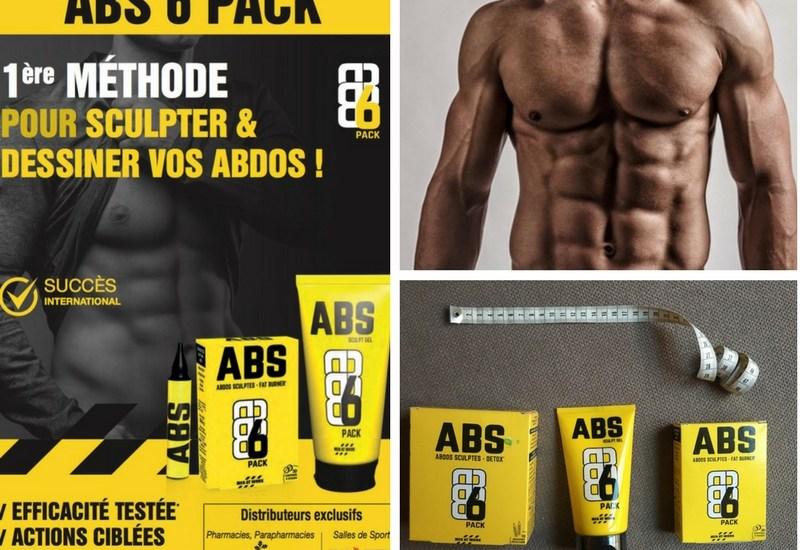 ABS 6 pack pour sculpter vos abdos