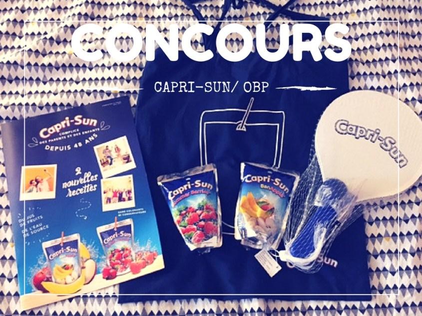 Les nouveaux parfums Capri-sun pour l'été (concours terminé)