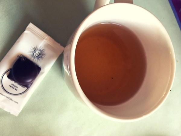 la parfaite alliance du chocolat et du thé !