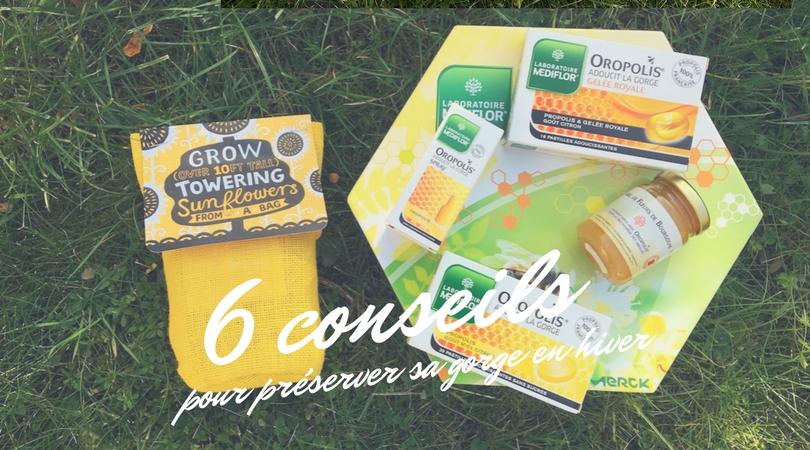 6 conseils pour préserver sa gorge pendant l'hiver #boxOropolis (concours terminé)