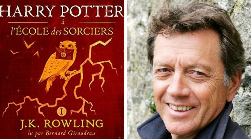 Harry Potter lu par Bernard Giraudeau #audible