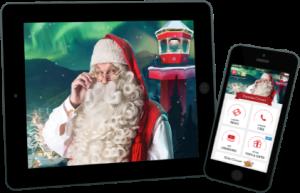 La vidéo du père Noel, qui parle à ton enfant, chic non ?