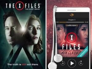 X-fiels, en livre audio sur Audible