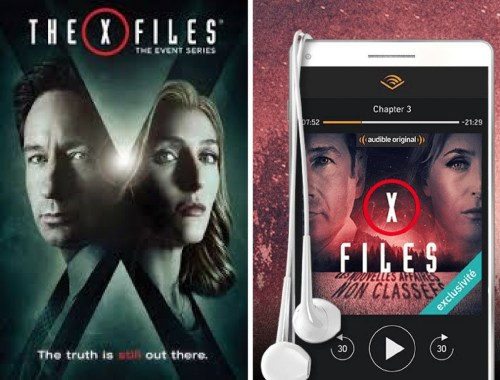 X-fiels, en livre audio sur Audible