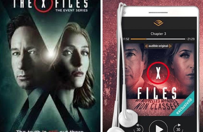 X-files en livre audio #audible