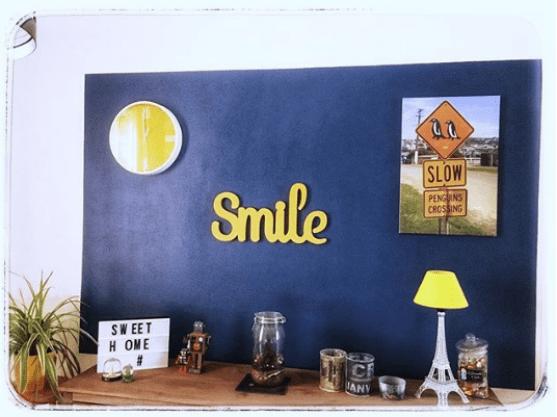 Affichez du smile dans votre salon !