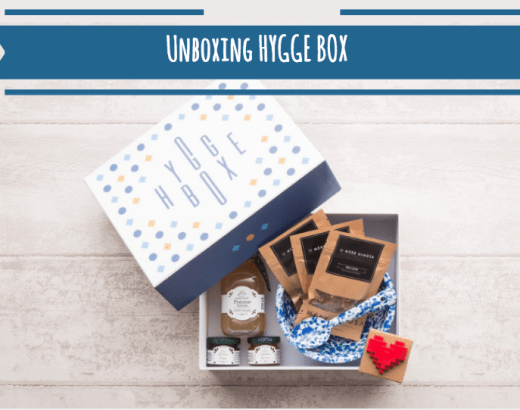 Unboxing de la Hygge Box