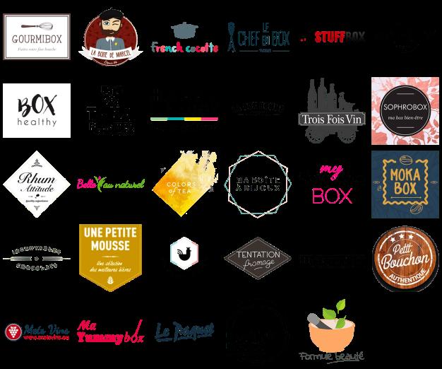 Les partenaires de la MasterBox