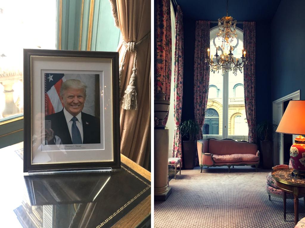 L'ambassade & trump