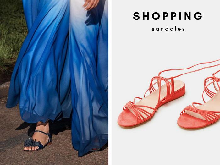 Sélection shopping Sandales spécial été *